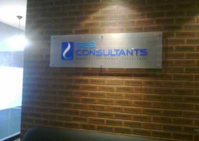 B2B Consultants-sign by Arrow Signs