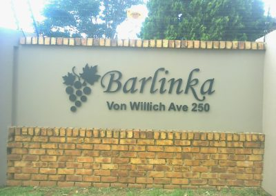 Barlinka-sign by Arrow Signs