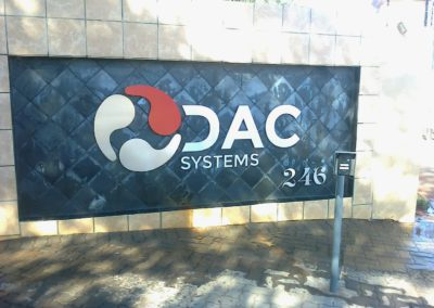Planet DAC Street-sign by Arrow Signs