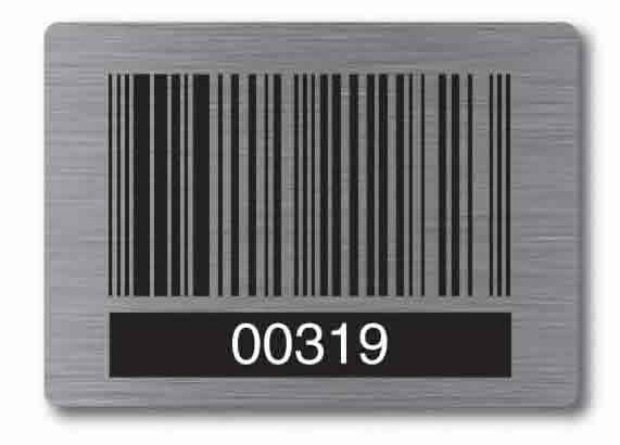 Aluminium Labels by Arrow Signs